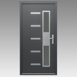 1-Porte-métal-M-V0019-Naons-RAL-7016-S
